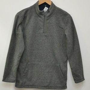 Childrens Place Gray fleece pullover 1/4 Zip Boys